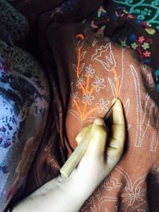 カシミール刺繍2
