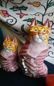 ペーパーマッシュ猫1